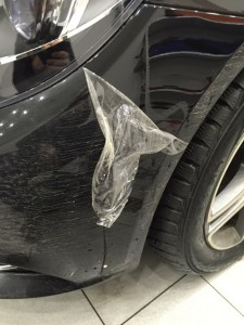 Защитная пленка автомобиля