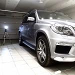 Полировка автомобиля Mercedes GL